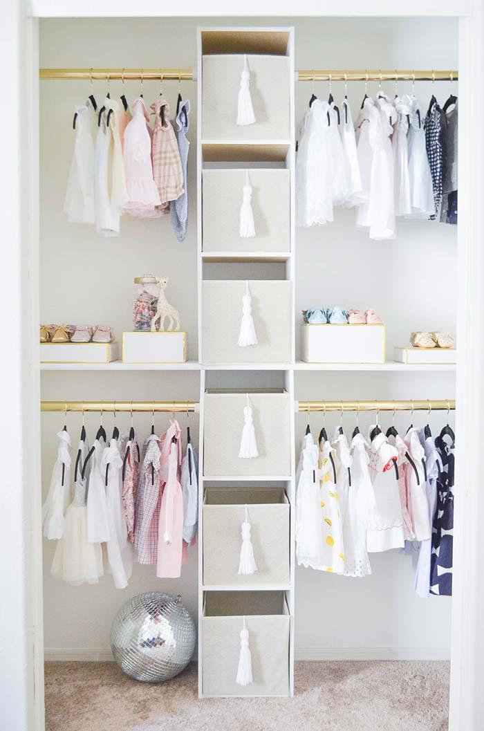 Closet infantil branco