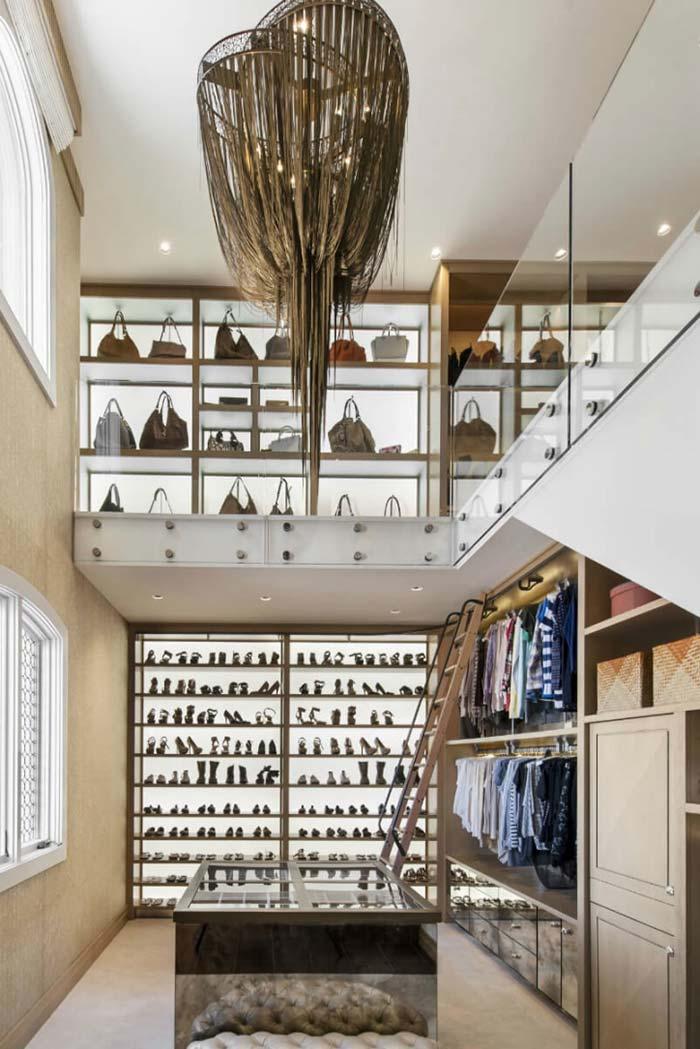Não é uma loja, é um closet