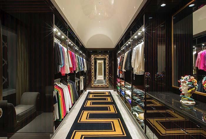 Um closet de realeza