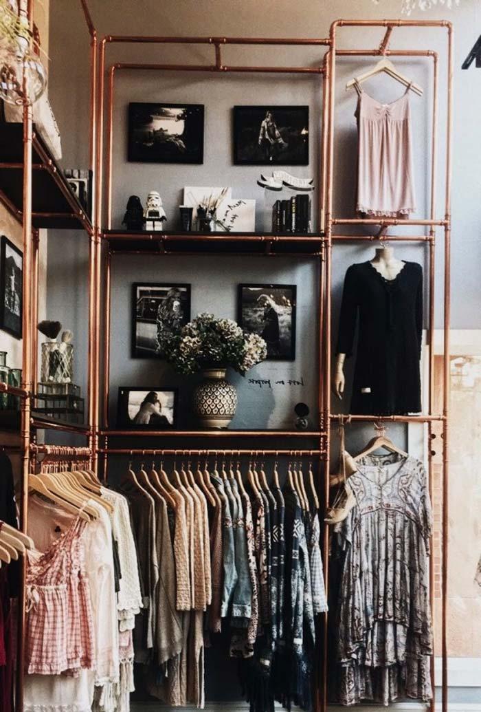 Aramado bronze: luxo e glamour para o closet