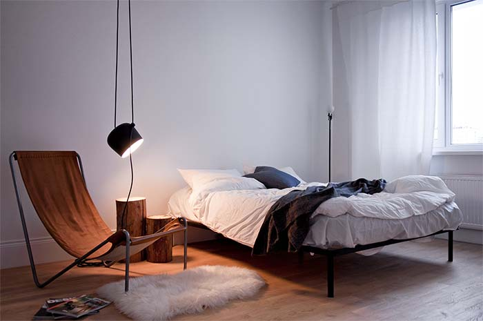 poltrona inspirada nas cadeiras de praia reclináveis
