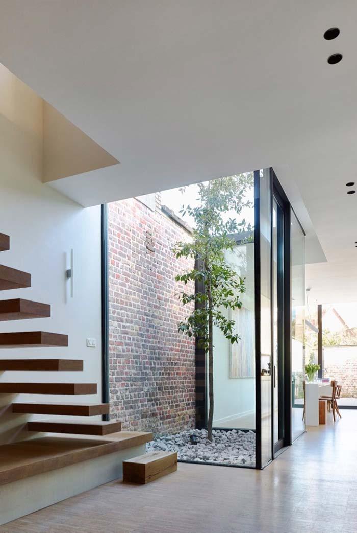 Paredes e tetos de vidro são comuns em projetos de jardim de inverno