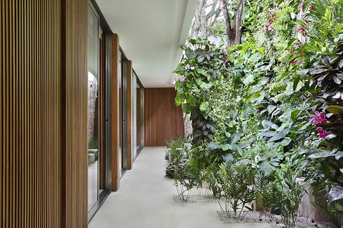 Jardim de inverno vertical