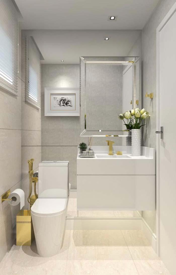 Espelhos para compor o lavabo