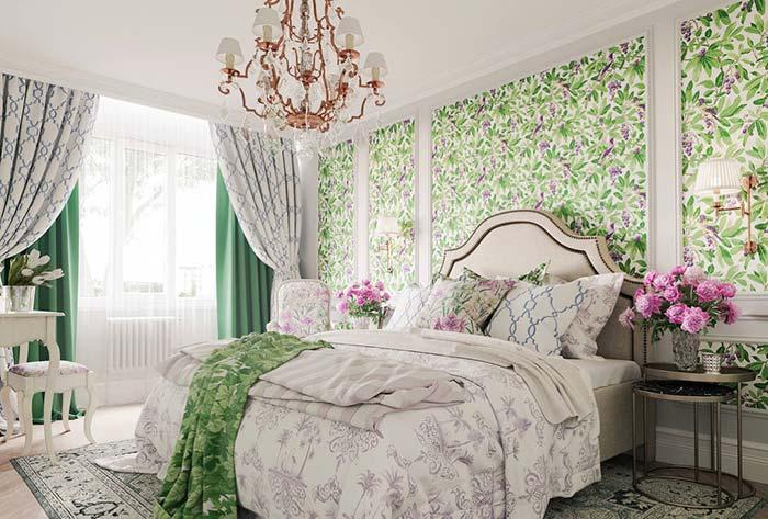 quarto de estilo provençal ficou aconchegante e alegre