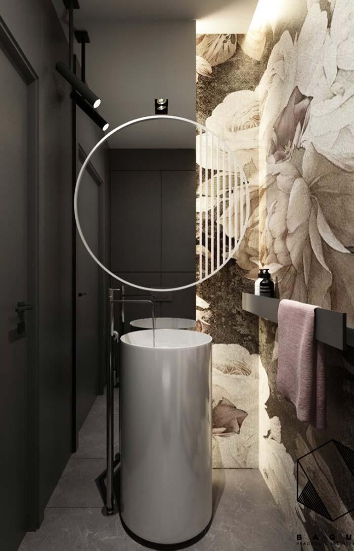 Banheiro feminino moderno