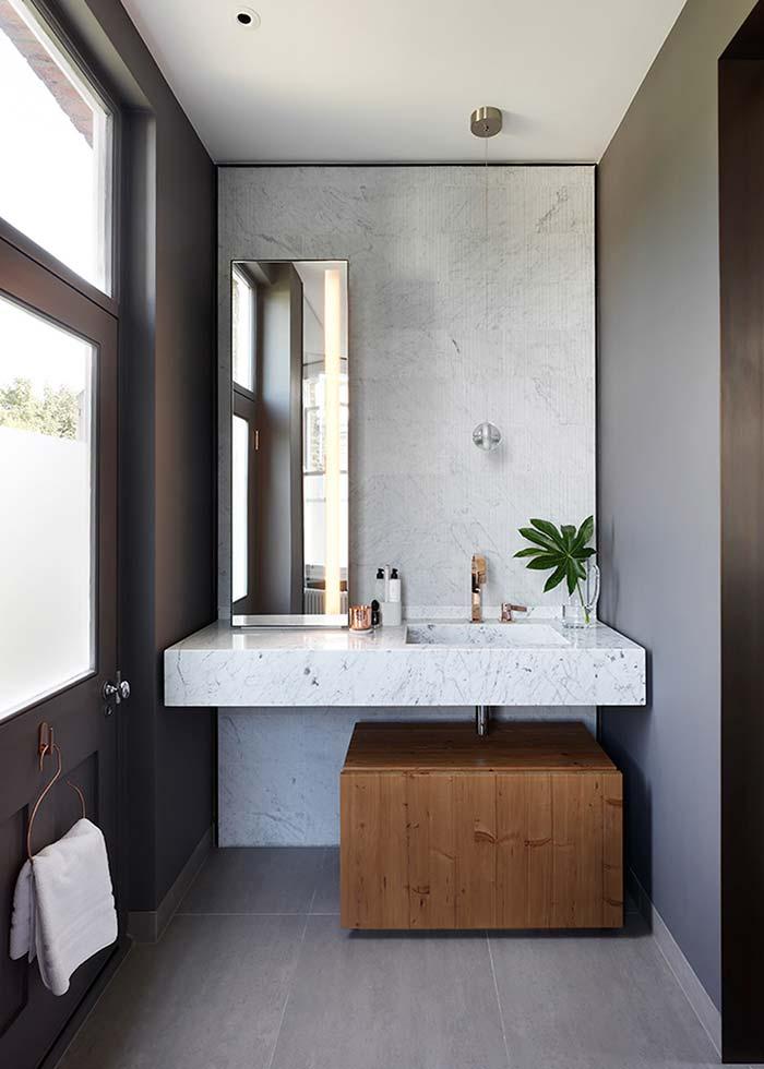 Espelho para banheiro vertical