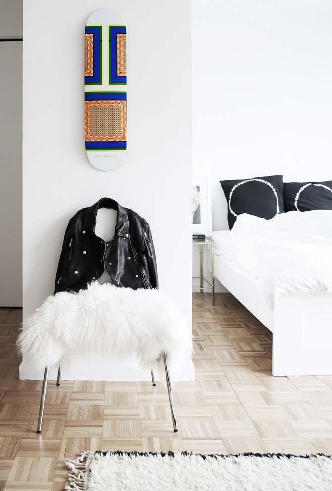 Dê mais personalidade para as suas paredes brancas