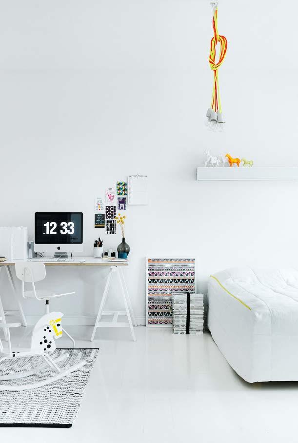 Para ambientes conjugados ou lofts