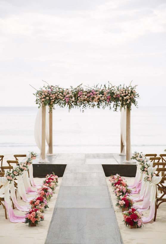 Mini Wedding perfeito na praia