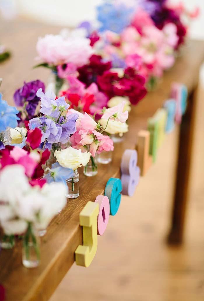Graciosidade na decoração mini wedding