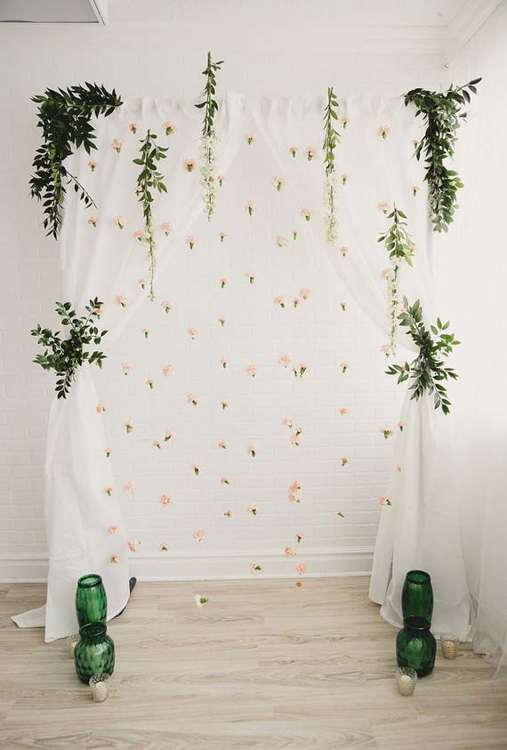 Mini wedding barato feito em casa