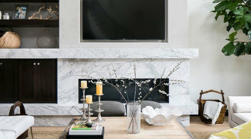 Sala com lareira: como escolher e dicas para decorar