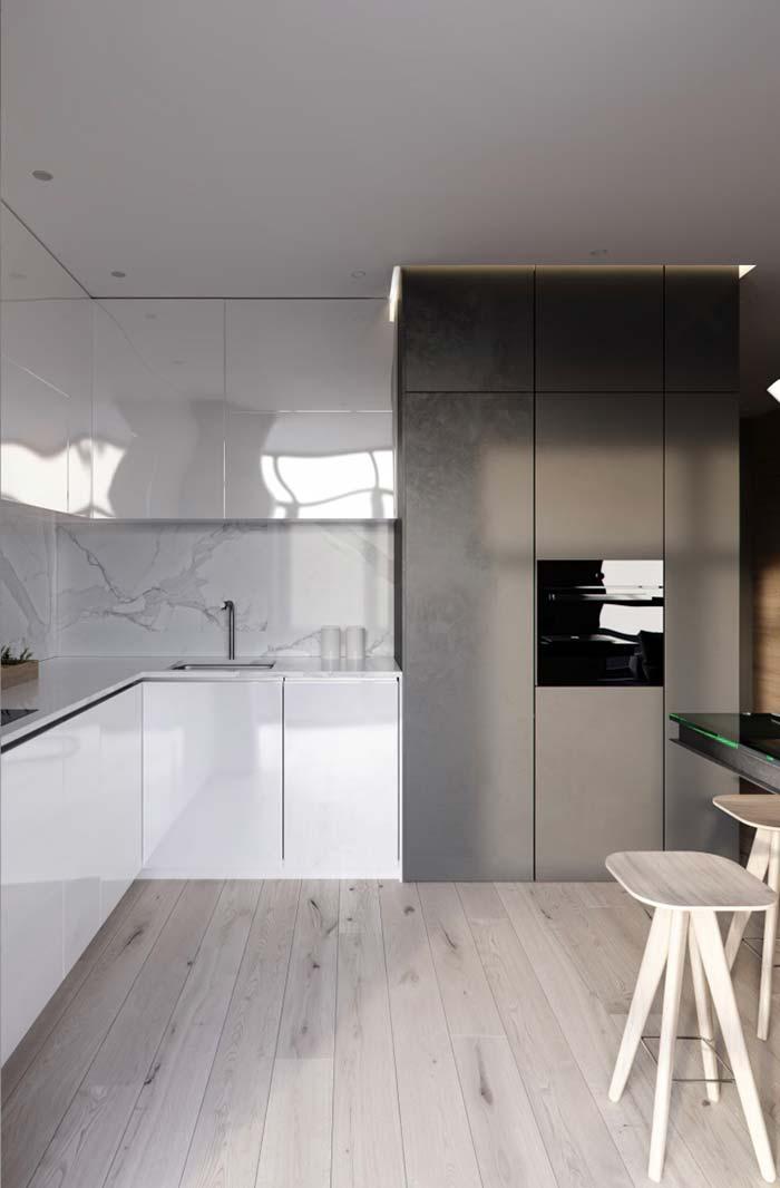 Decoração de cozinhas minimalistas