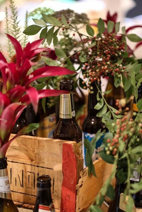 Caixas de feira para garrafas vazias