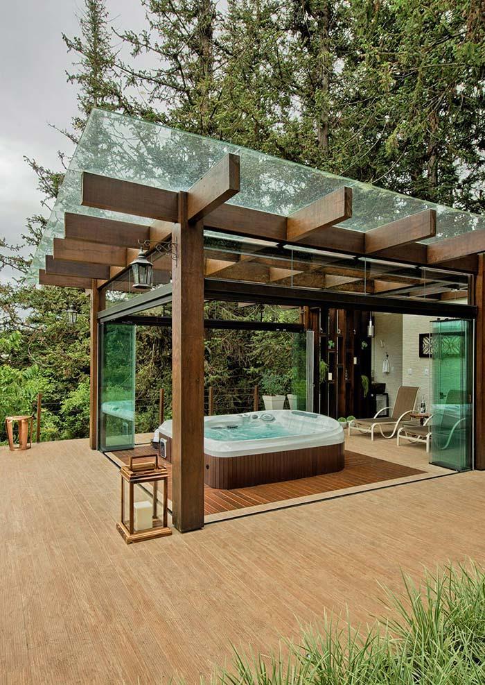 Bom lugar para um banho.