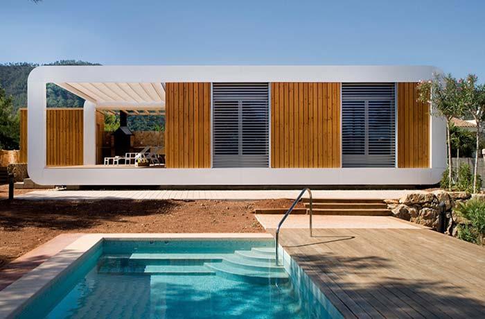 A arquitetura contemporânea é seu ponto forte