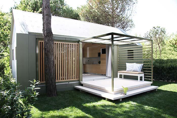 Casa pré-fabricada simples