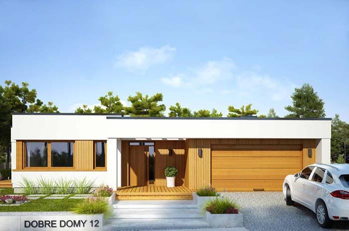 O modelo perfeito para uma residência unifamiliar