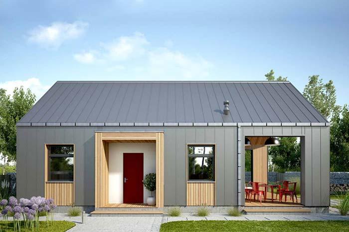 Personalize sua fachada com materiais diferentes