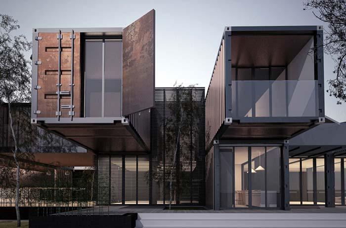Que tal uma construção inspirada nos lofts
