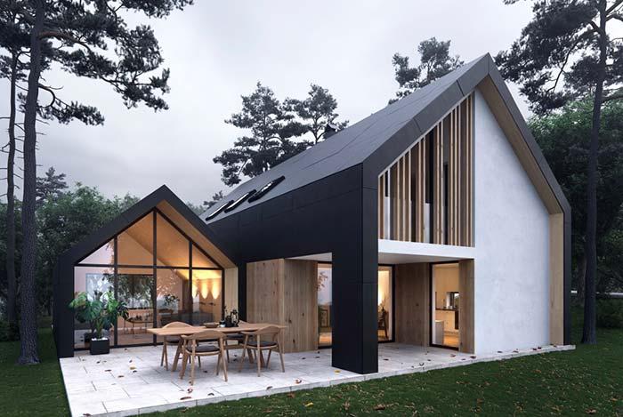 Com arquitetura marcante e moderna