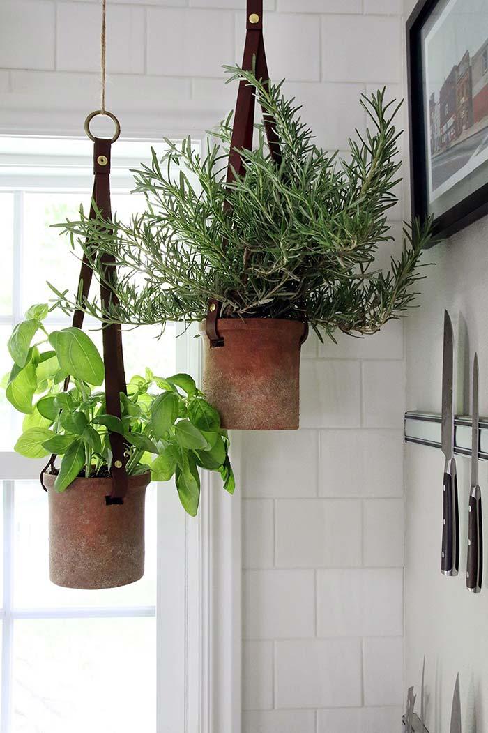 Descentralize sua horta e espalhe os vasos pela casa