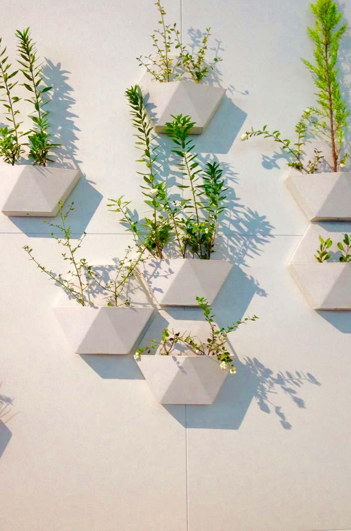 Vasinhos 3D para a horta vertical