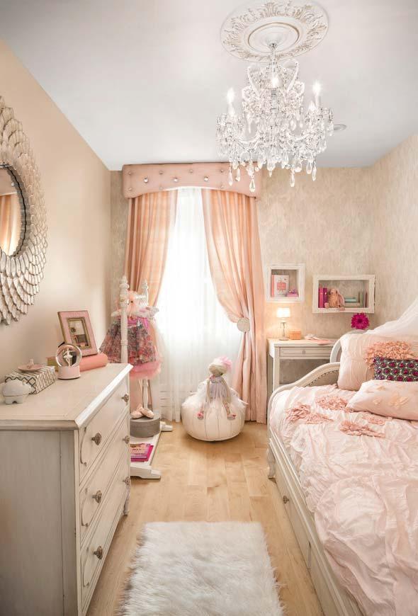 Escolha os tons mais claros para uma decoração mais clássica