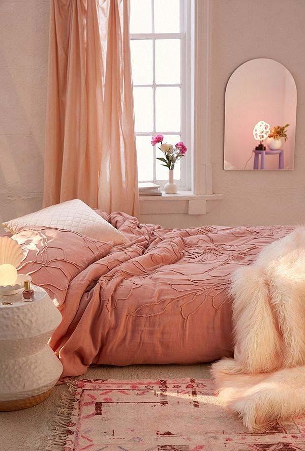 Clima romântico no quarto
