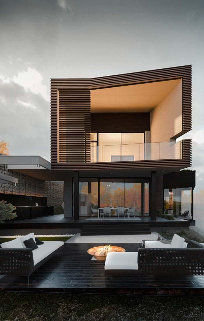 Modelo de casas de sobrado de alvenaria