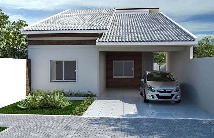 Casas de arquitetura simples devem valorizar os detalhes