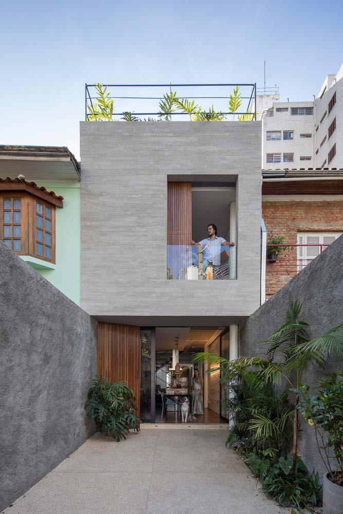 Modelos de casas retangulares