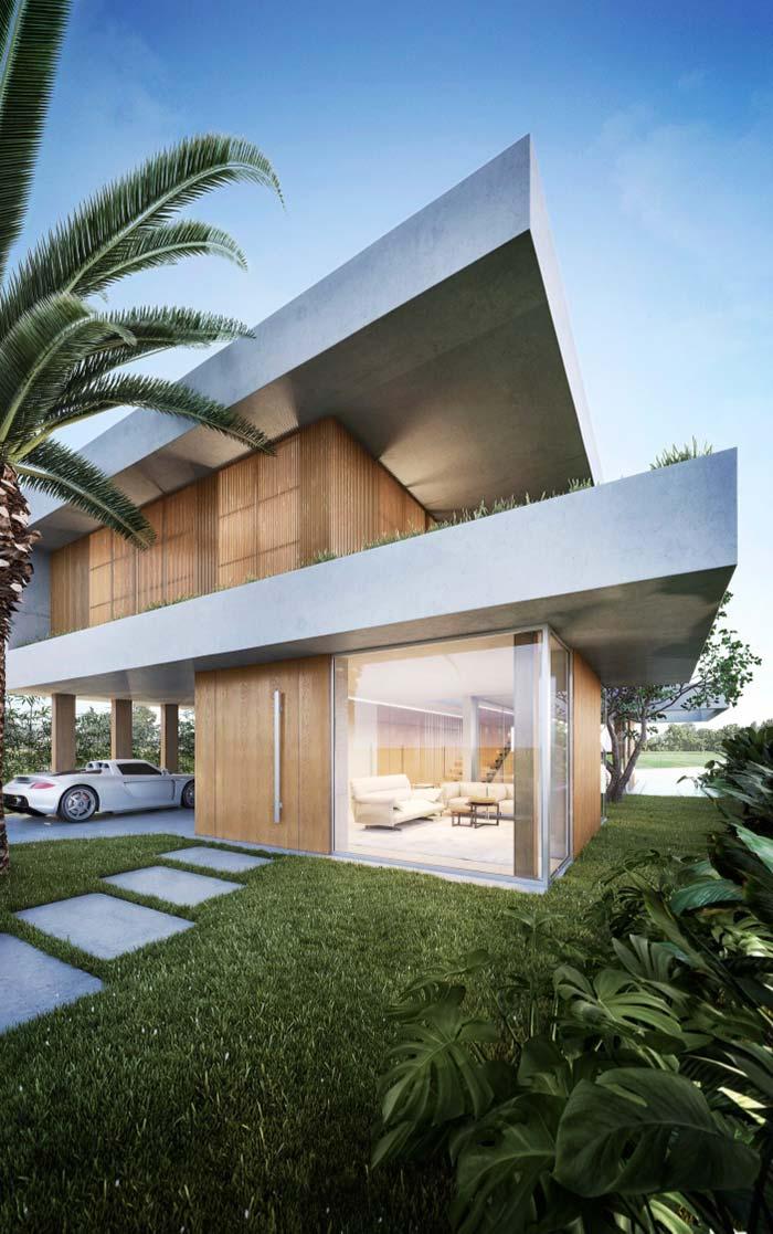 Modelos de casas grandes com área externa valorizada