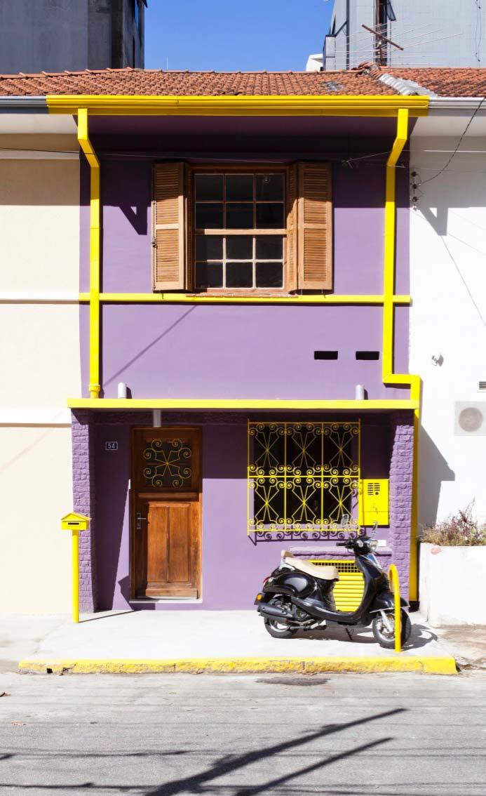 Modelo de casa típica de vila