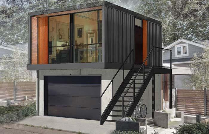 Modelo de casa container