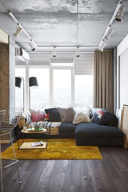 Uso conjunto de cortina e persiana para sal