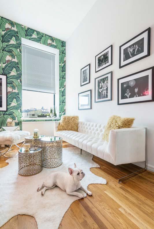 Sala com persiana