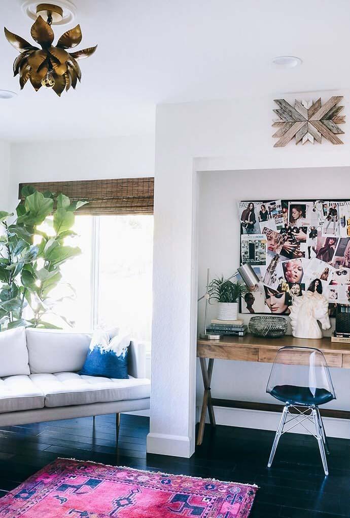persianas para sala de fibras naturais