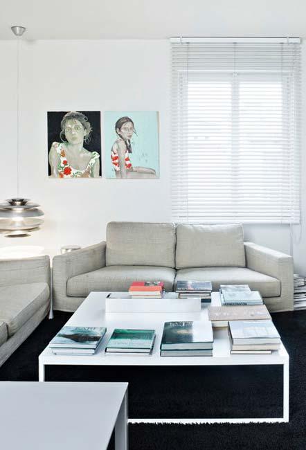 sala de estar uma decór minimalista