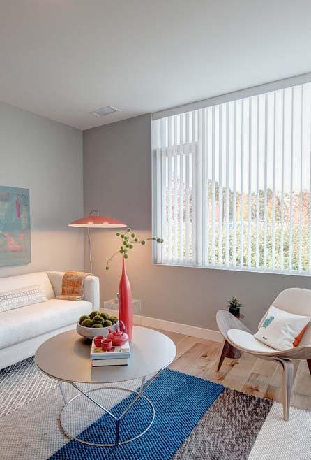 persiana vertical para sala de estar simples