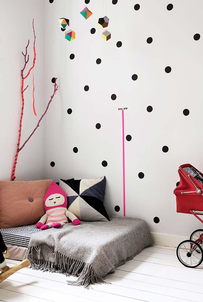 Quarto Infantil Feminino 65 Ideias, Fotos e Projetos Lindos -> Decoração Quarto Infantil Masculino Pequeno Simples E Barato