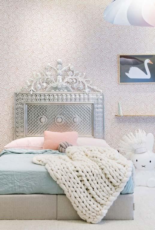 Decoração de quarto infantil feminino digna das princesas