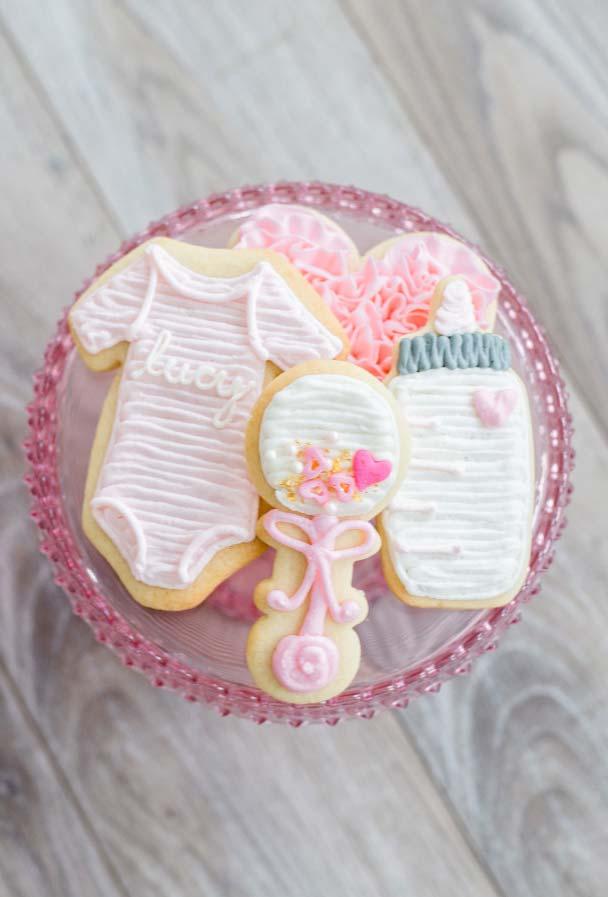 Biscoitinhos amanteigados decorados