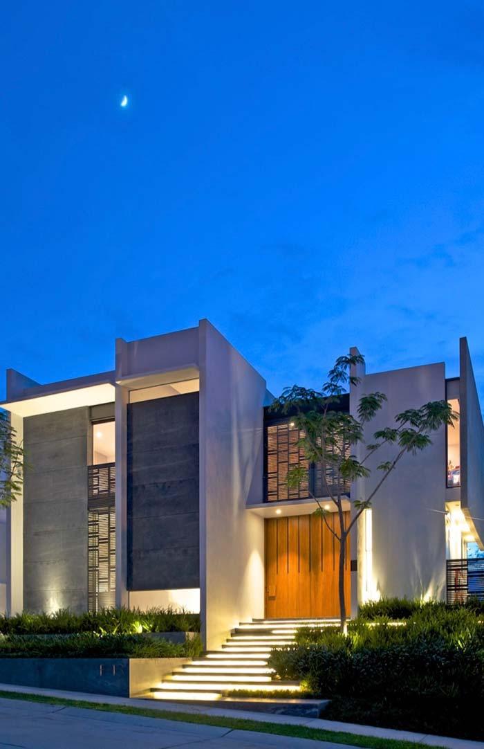 Casas modernas 100 modelos por fora por dentro e fotos for Imagenes casas modernas