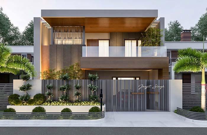 casas modernas 100 modelos por fora por dentro e fotos