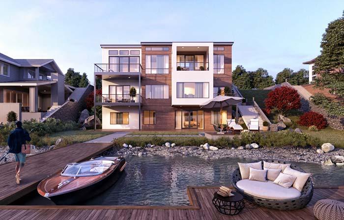 Casas modernas: descubra 100 modelos por dentro e por fora