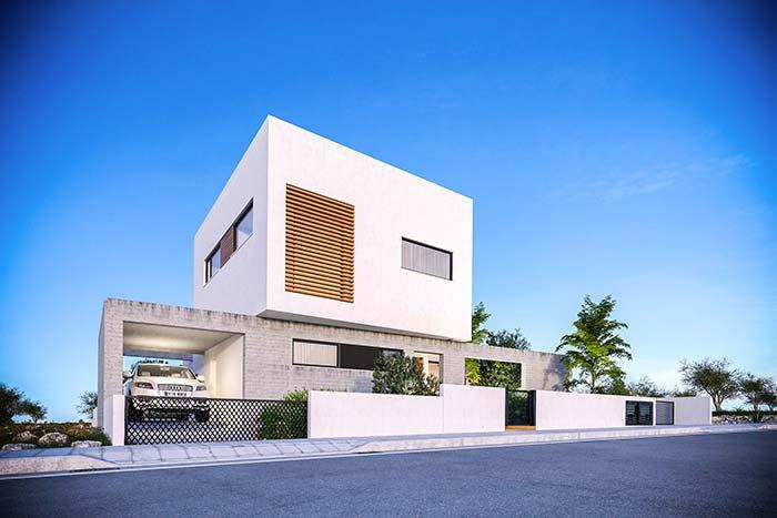Arquitetos são os profissionais responsáveis pela criação de projetos de casas modernas.