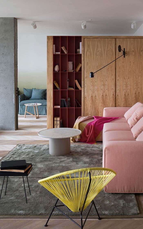 Casas modernas 100 modelos por fora por dentro e fotos for Interiores de casas modernas