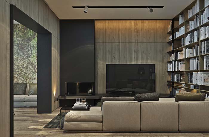 Casas modernas 100 modelos por fora por dentro e fotos for Casa moderna 64